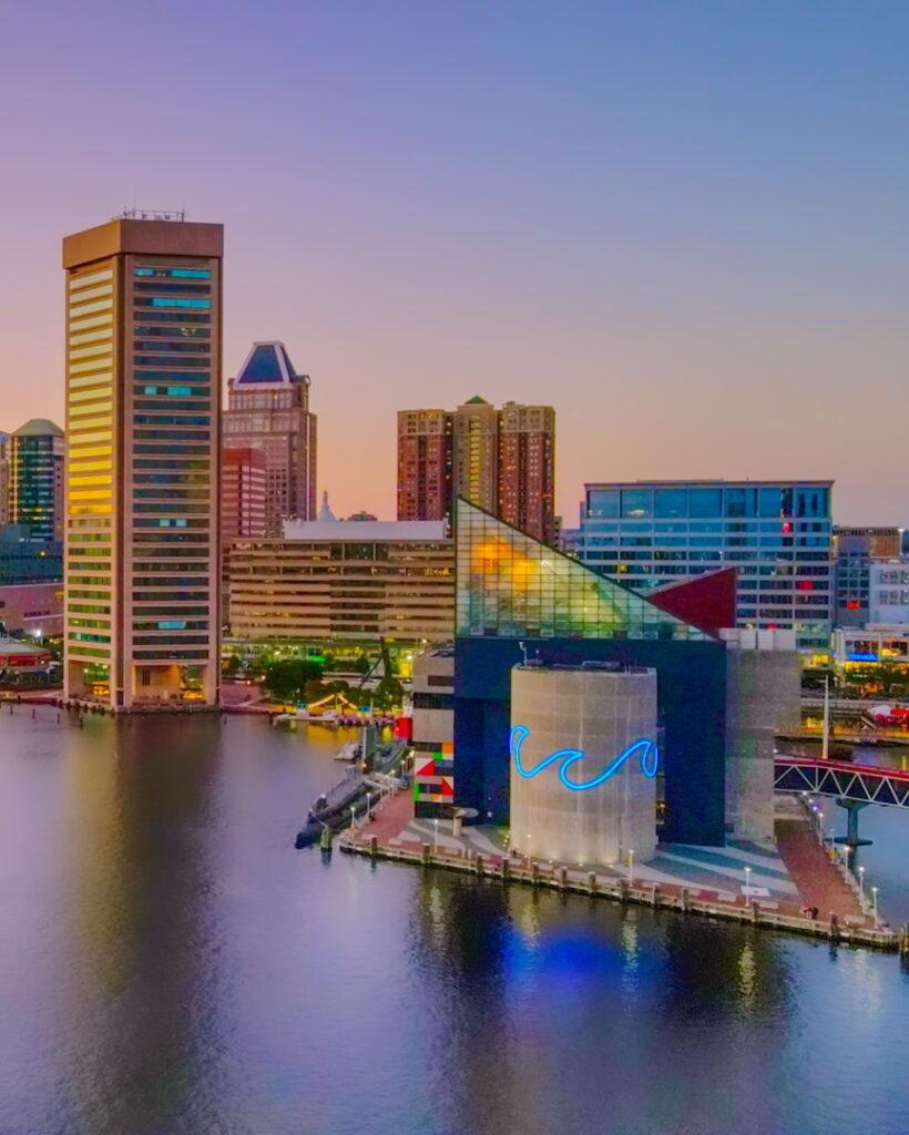 Baltimore website design company and skyline web designer