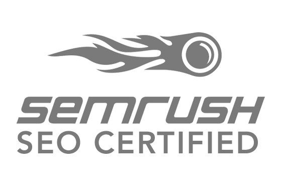 Website Designer certified by SEMRush